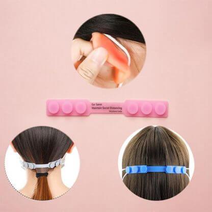 Women Wear Ear Saver